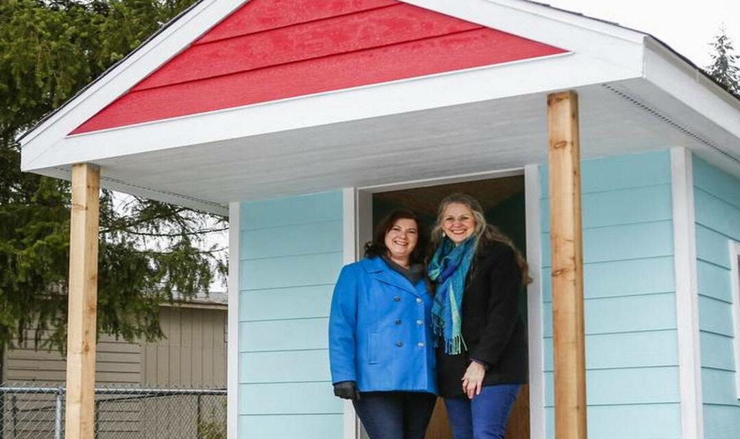 Sumner, Bonney Lake communities unite to build playhouse for Prairie Ridge