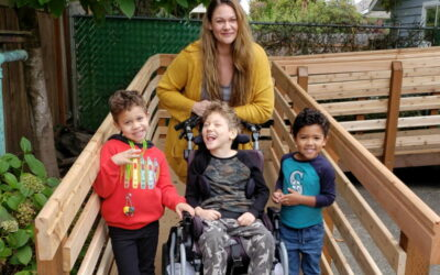 Enumclaw family with disabled son 'grateful' after receiving Rampathon project